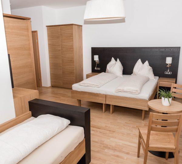 Hotelzimmer in Neuberg